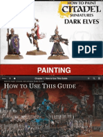 Warhammer - How to Paint Citadel Miniatures - Dark Elves