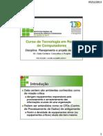 Data Centers - Conceitos e Projeto