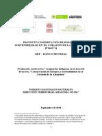 I. Informe Evaluación Indígenas Proyecto GEF 2.09.14