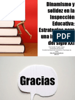 Dinamismo y estabilidad en la inspección educativa