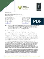 Letter to Farmington BLM Office