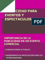 11.- Publicidad de Eventos