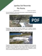 Fotografías Del Recorrido Rio Rocha