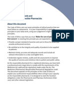 Professional Standards and Guidance for Responsible Pharmacists