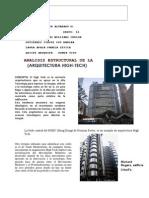 Informe Analisis Estructural High Tech