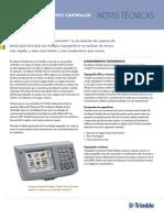Carcteristicas Controlador Estacion trimble