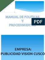 Manual de Politicas y Procedimientos