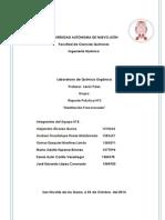 Reporte 3 - Destilación Fraccionada