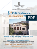 6th Phd Conference-program