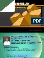 Studi Hukum Islam (Hakekat Studi Hukum Islam)