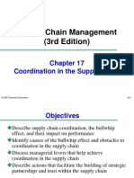 Supply Chain Management Co-ordination