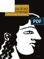 A History of the Greek Language - Rodríguez Adrados