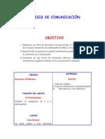Analisis de Comunicacion