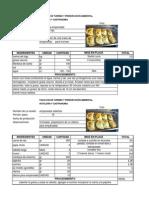 Gastronomia Argentina_lista de Precios