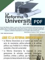 La Reforma Universitaria Del Siglo XX1