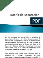Batería de Separación