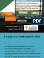 study environment printable