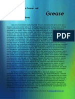 grease - written page
