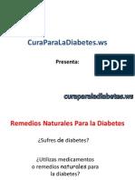 Remedios Naturales Para la Diabetes y Su Eficacia en el Tratamiento de la Diabetes