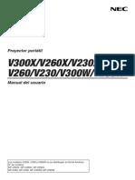 V300X-W Manual SPA