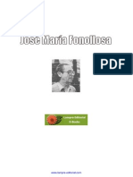 Fonollosa J M - Antologia Poetica