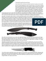 A Long-Term Survival Guide - Equipment & Supplies