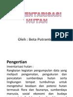 INVENTARISASI HUTAN BPKH