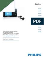 Manual de usuario MP3 philips GoGear