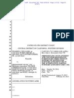 Pharrell_Williams and Thicke v. Gaye - order on evidence order 138.pdf