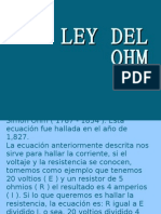 LEY DEL OHM
