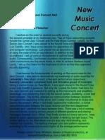 concerts motif - text