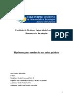 Hip%C3%B3teses pr%C3%A1ticas - DPC II - 2013-2014[1]