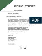 Exportacion Del Petroleo PFM