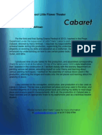 cabaret - text