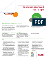 IELTS Writing Tips 2013