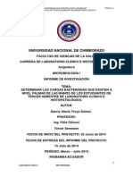 DETERMINAR LAS CARGAS BACTERIANAS QUE EXISTEN A NIVEL PALMAR DE LAS MANOS DE LOS ESTUDIANTES DE TE.docx