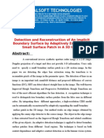 IEEE 2014 JAVA/.NET IMAGE PROCESSING PROJECT Detection and Reconstruction of an Implicit Boundary Surface by Adaptiv