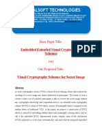 IEEE 2014 JAVA/.NET IMAGE PROCESSING PROJECT Embedded Extended Visual Cryptography Schemes