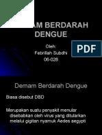 febrillah subdhi - Demam Berdarah Dengue