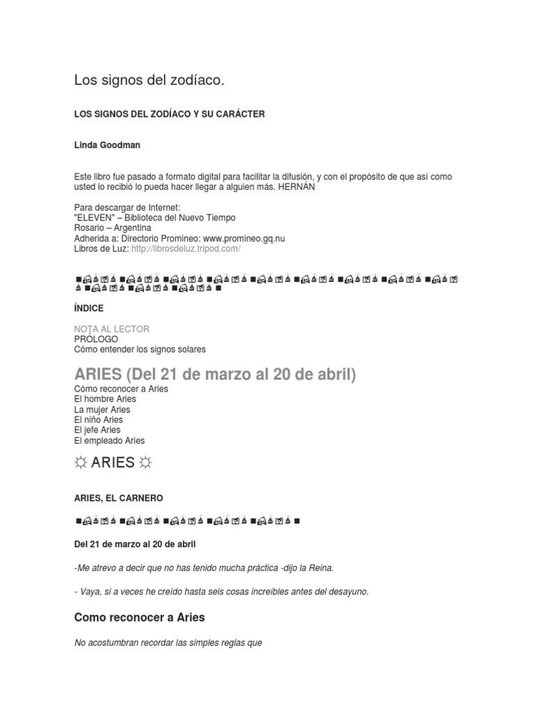 Los Signos Del Zodíaco 2887eb2ab3d1
