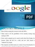 Presentation on Google Case Study