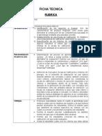 Ficha Tecnica RubricaFicha tecnica rubrica