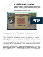 Reseña Histórica de Huanuco