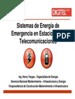 Sistemas de Energia de Emergencia - HENRY VARGAS - Digitel