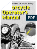 TXDOT Motorcycle Operator's Manual