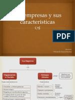 Las Empresas y Sus Características