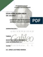 CASO 11.1