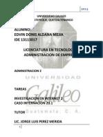 CASO 20.1 Administracion 2