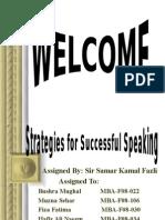 Strategies for Successful Speaking