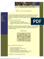 CPM - Critical Path Method